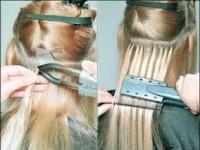 преимущество  итальянского горячего наращивания волос