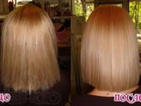 Кератиновое выпрямление волос на дому