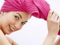 Естественный метод сушки волос