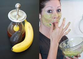 Маски из авокадо: питательные