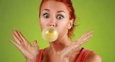 Польза и вред жевательной резинки