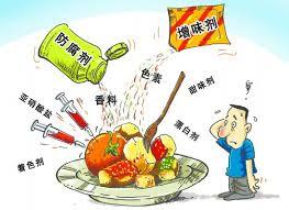 Вредные добавки в продуктах питания