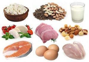 Наилучшие продукты, содержащие большое количество белка