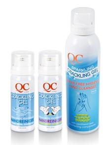 Crackling gel - антибактериальный очищающий гель