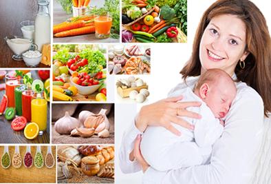 Питание матери сразу после родов