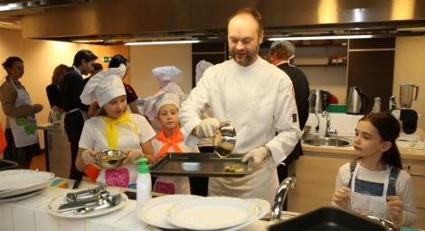 Кулинарная школа для детей от «Нестле Россия» начала работу