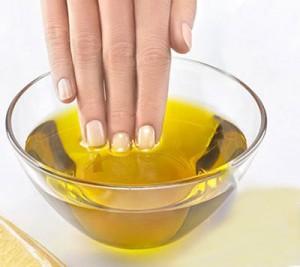 Ванночки с оливковым маслом